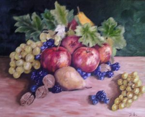 Still life, autumn Oil on canvas 46x38 cm